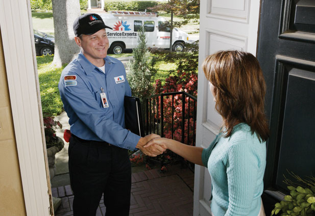 in-home estimate from Abbey Air Service Experts Heating & Air Conditioning